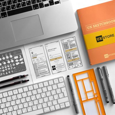 Image showcasing wireframes in ux design